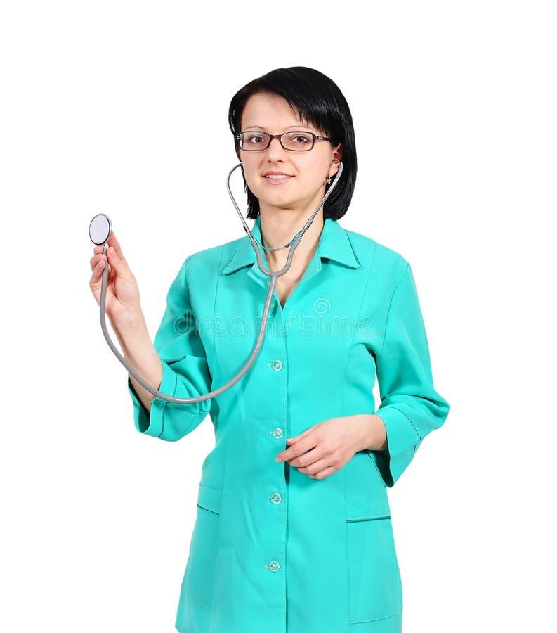 Docteur et stéthoscope photographie stock