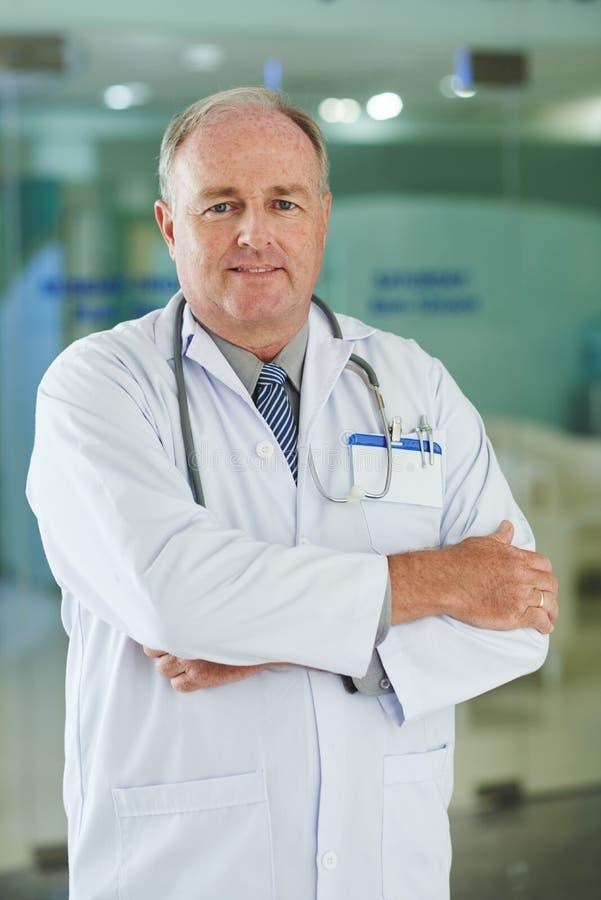 Docteur expérimenté image libre de droits