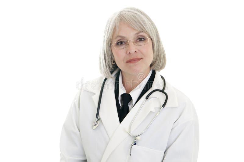Docteur féminin mûr photographie stock libre de droits