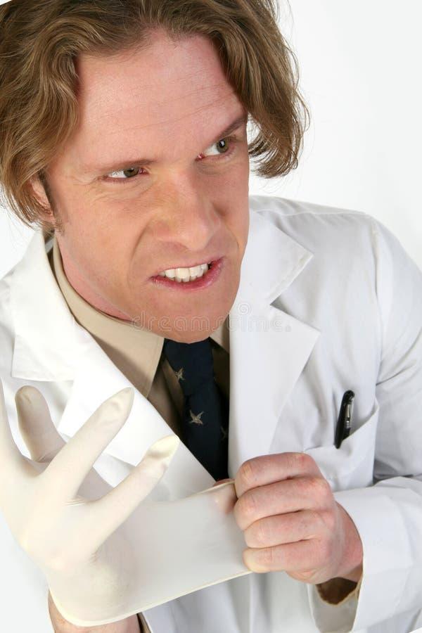 Docteur fou photographie stock libre de droits