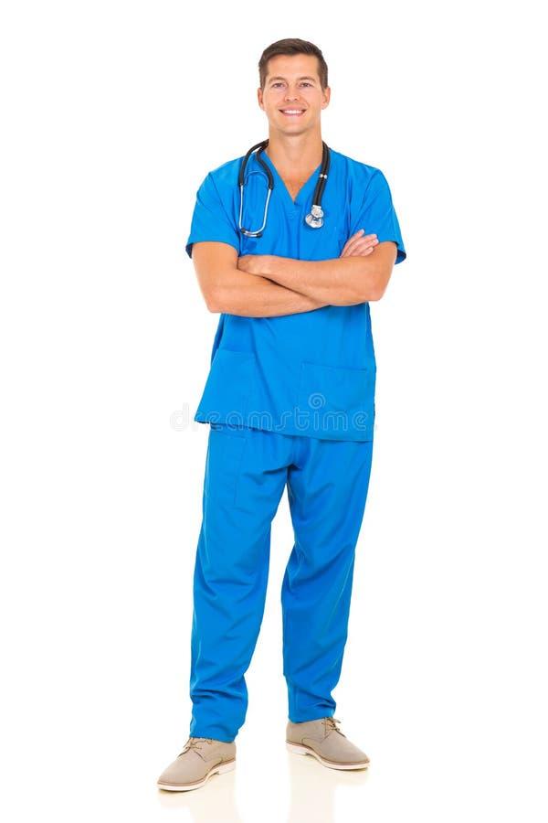 Docteur mâle amical photos libres de droits