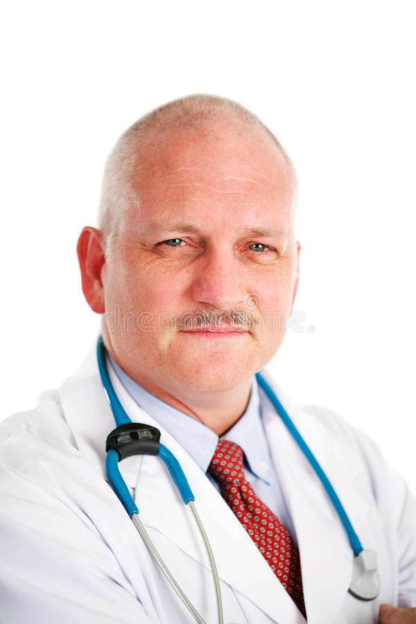 Docteur mûr Portrait image stock
