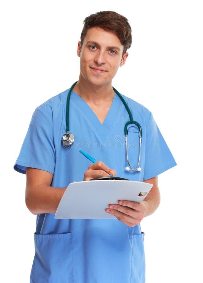 Docteur Nurse image stock