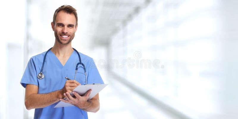 Docteur Nurse photos libres de droits