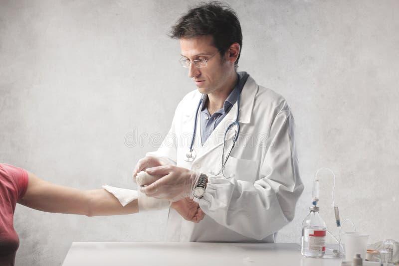 Docteur Operation image libre de droits