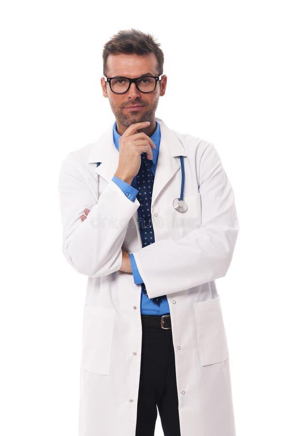 Docteur songeur photos libres de droits