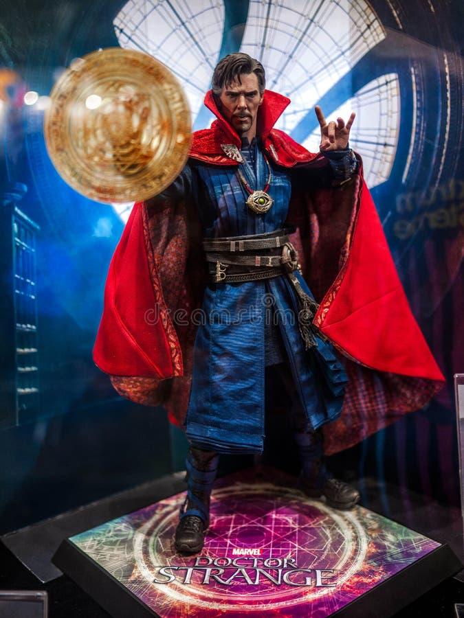 Docteur Strange dans Ani-COM et des jeux Hong Kong photographie stock libre de droits