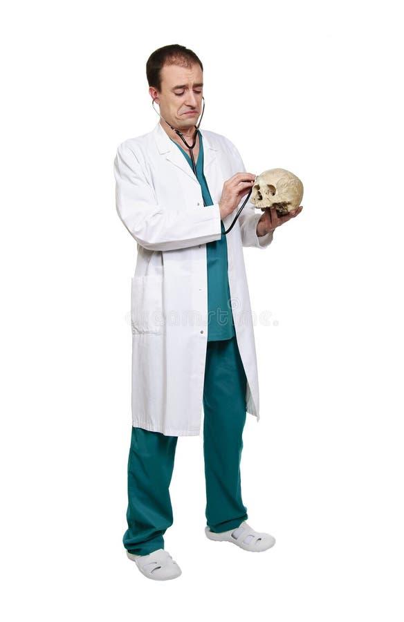 DOCTEUR AT WORK photo libre de droits