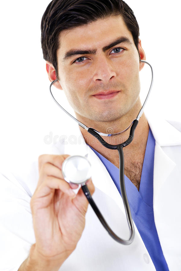 Download Doctor stock photo. Image of race, relaxed, coat, isolated - 15091648