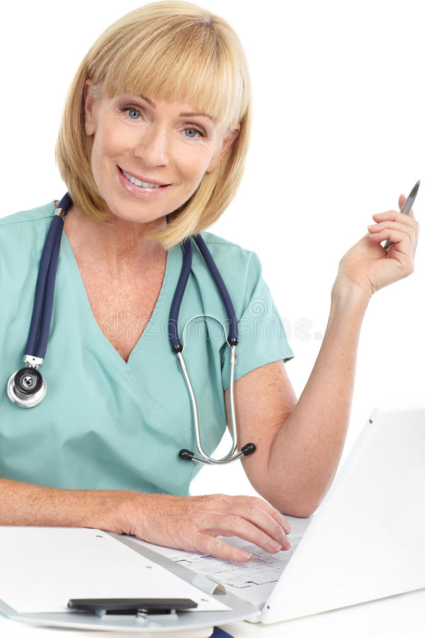 Download Doctor stock image. Image of business, healthy, laptop - 15882941