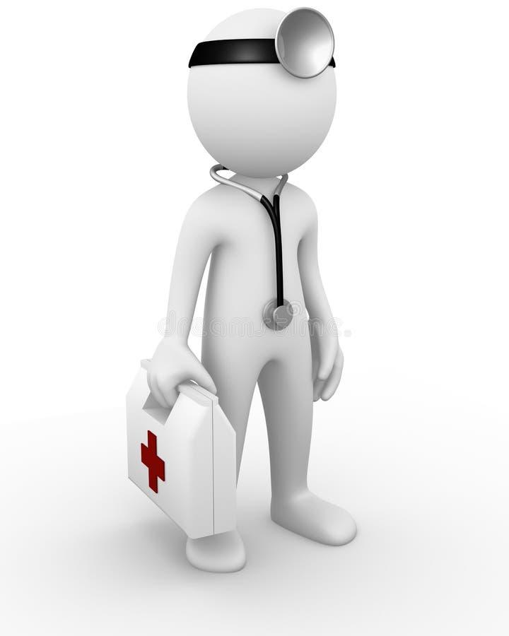 Download Doctor stock illustration. Illustration of health, standing - 17242350