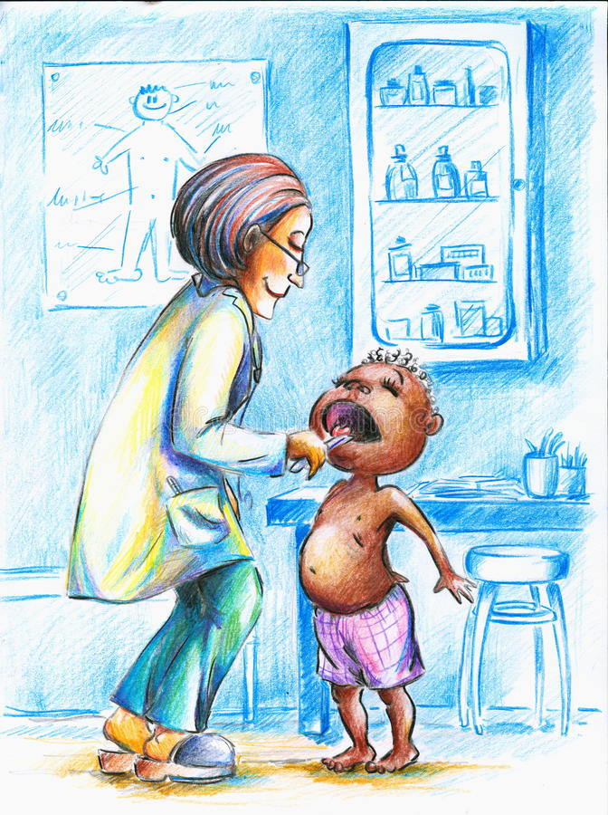 Download Doctor stock illustration. Illustration of caucasian - 17306464