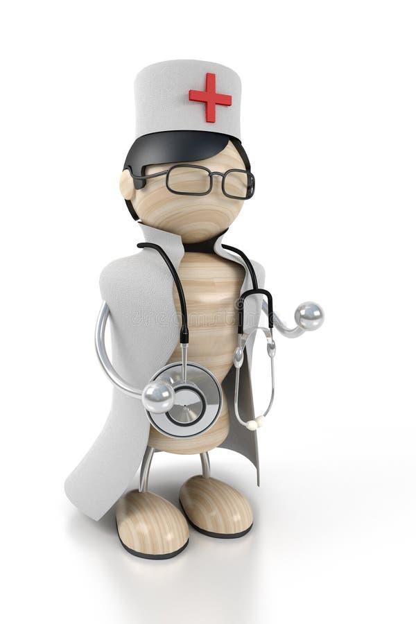Doctor ilustración del vector