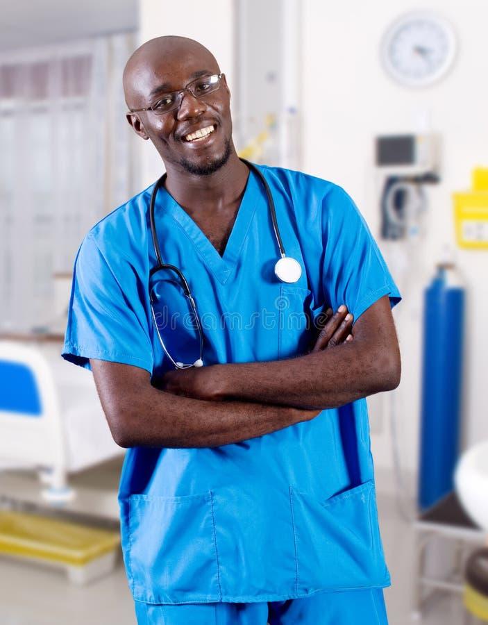 Doctor africano imagen de archivo libre de regalías