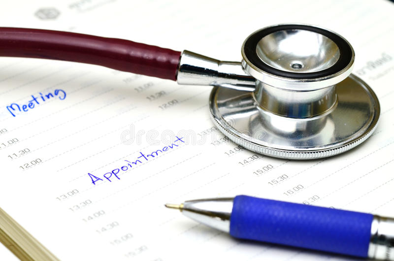 Doctor appointment royalty free stock photo