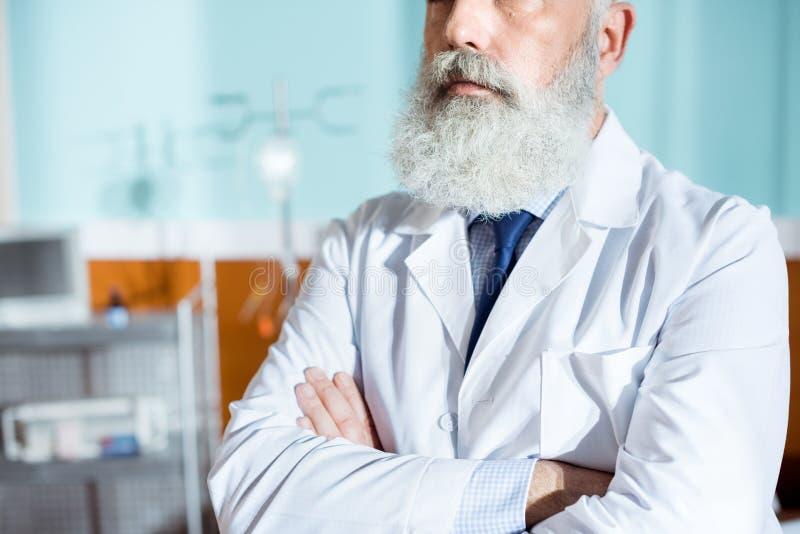 Doctor barbudo mayor imagen de archivo