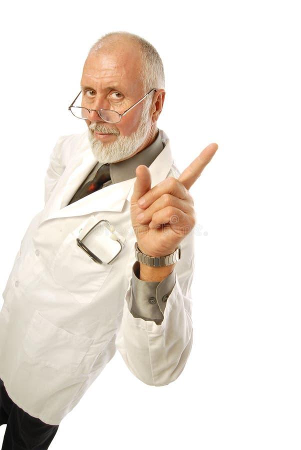Doctor cómodo foto de archivo libre de regalías