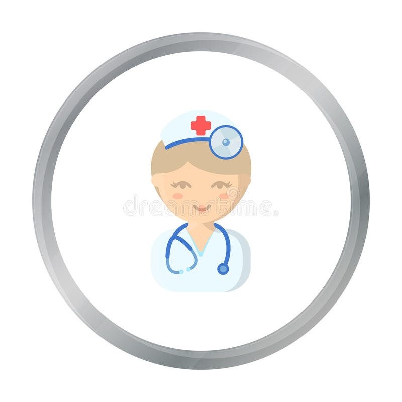 Doctor cartoon icon. Illustration for web and mobile design. Doctor cartoon icon. Illustration for web and mobile royalty free illustration