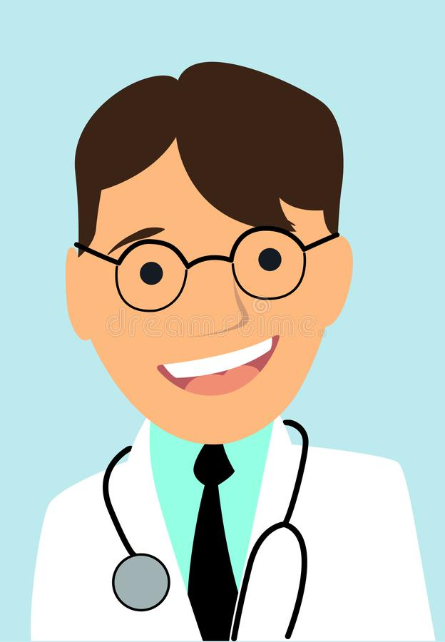 Doctor character vector illustration isolated stock images