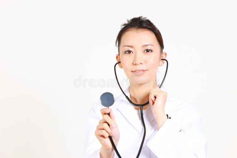 Doctor con el estetoscopio imagen de archivo libre de regalías