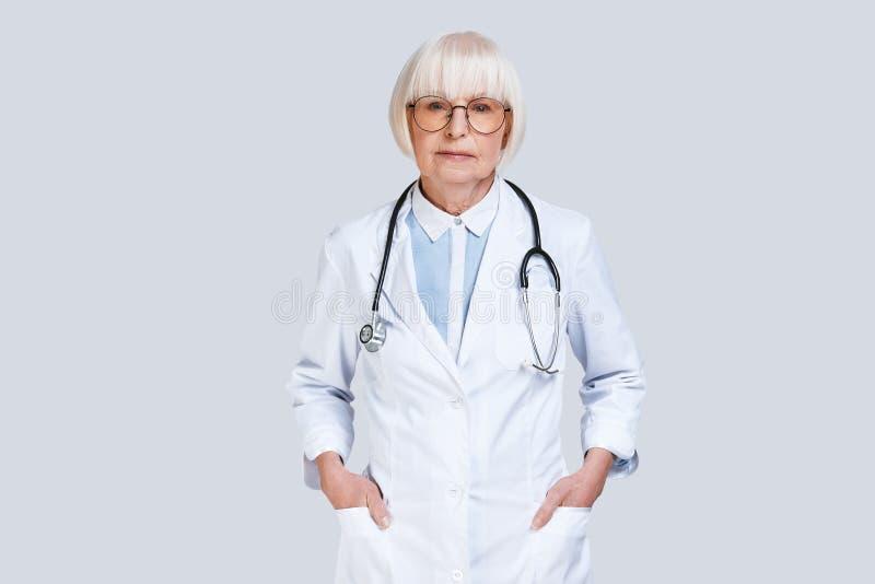 Doctor confiable fotografía de archivo libre de regalías