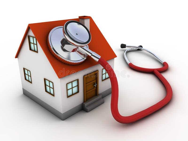 Doctor de casa libre illustration