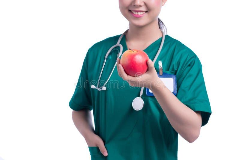Doctor de la atención sanitaria foto de archivo