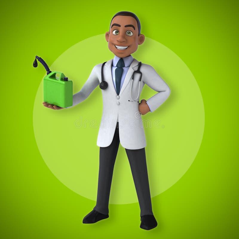 Doctor de la diversión ilustración del vector