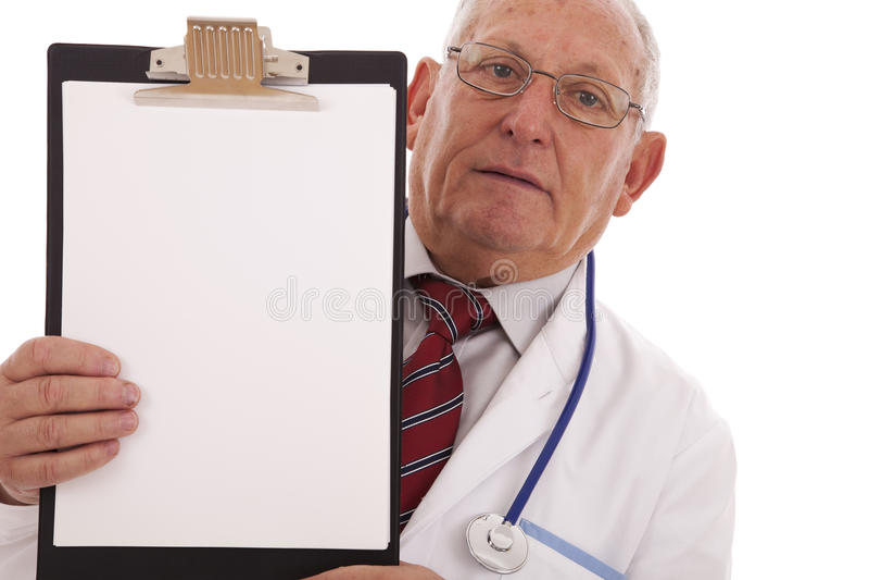 Doctor de la maestría imagenes de archivo