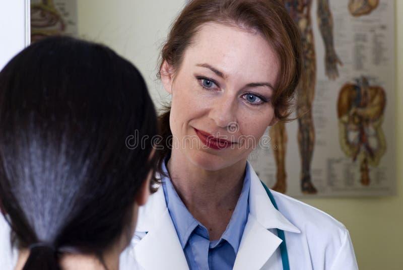 Doctor de la mujer fotografía de archivo