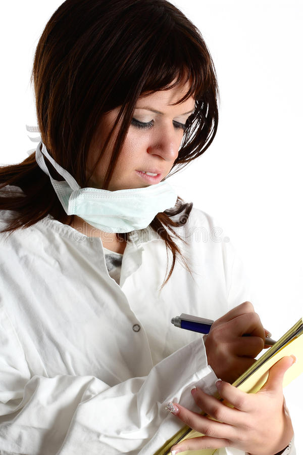 Doctor de la mujer imagen de archivo libre de regalías