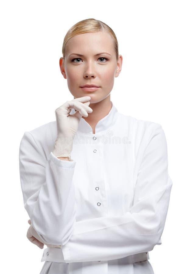 Doctor de la señora fotografía de archivo