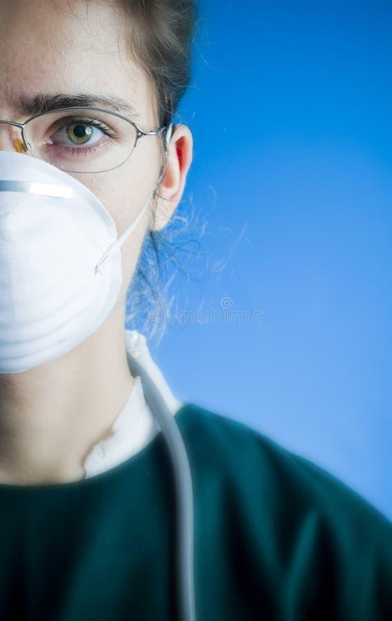 Doctor de sexo femenino fotografía de archivo