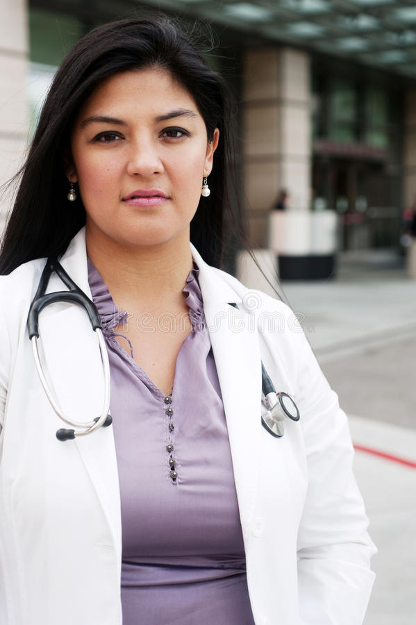 Doctor de sexo femenino fotografía de archivo libre de regalías