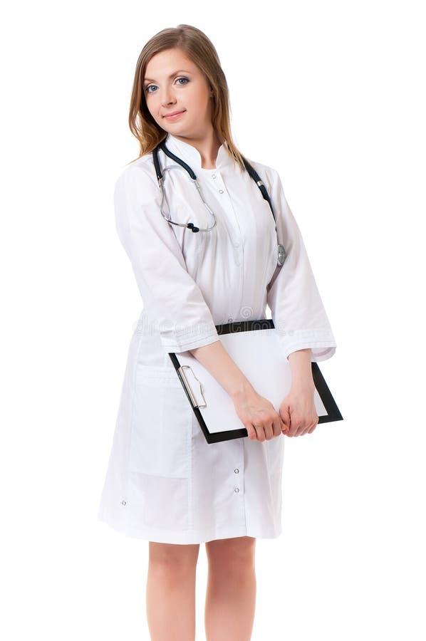 Doctor de sexo femenino fotos de archivo libres de regalías