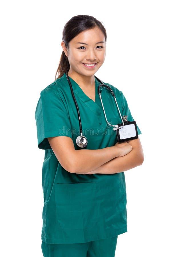 Download Doctor De Sexo Femenino Médico Foto de archivo - Imagen de trabajo, coreano: 42442910