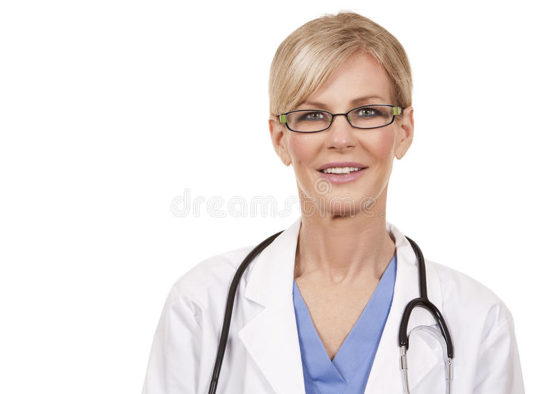 Doctor de sexo femenino maduro imagenes de archivo