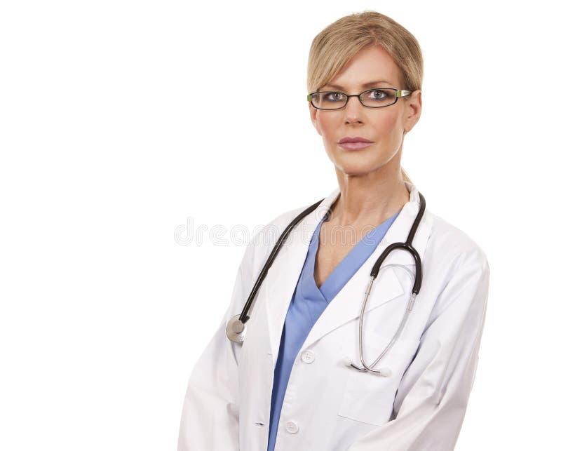 Doctor de sexo femenino maduro fotografía de archivo libre de regalías