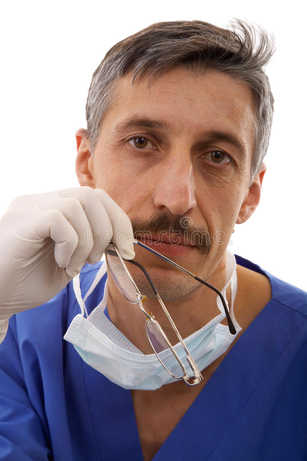 Doctor de sexo masculino foto de archivo