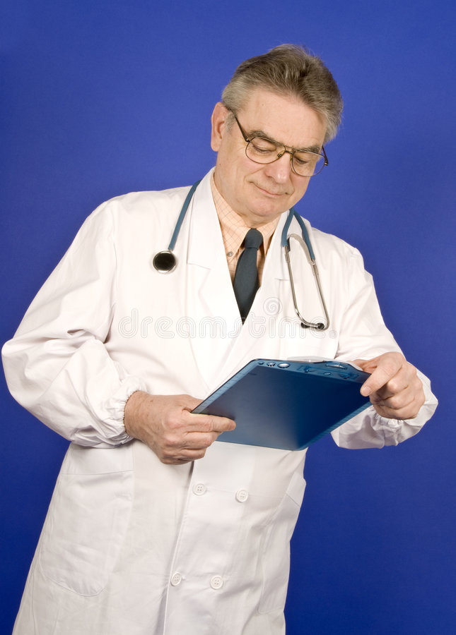 Doctor de sexo masculino fotos de archivo