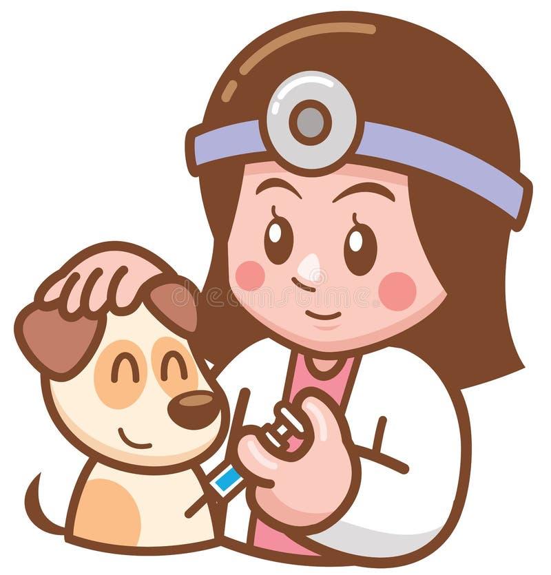 Doctor del animal dom?stico ilustración del vector