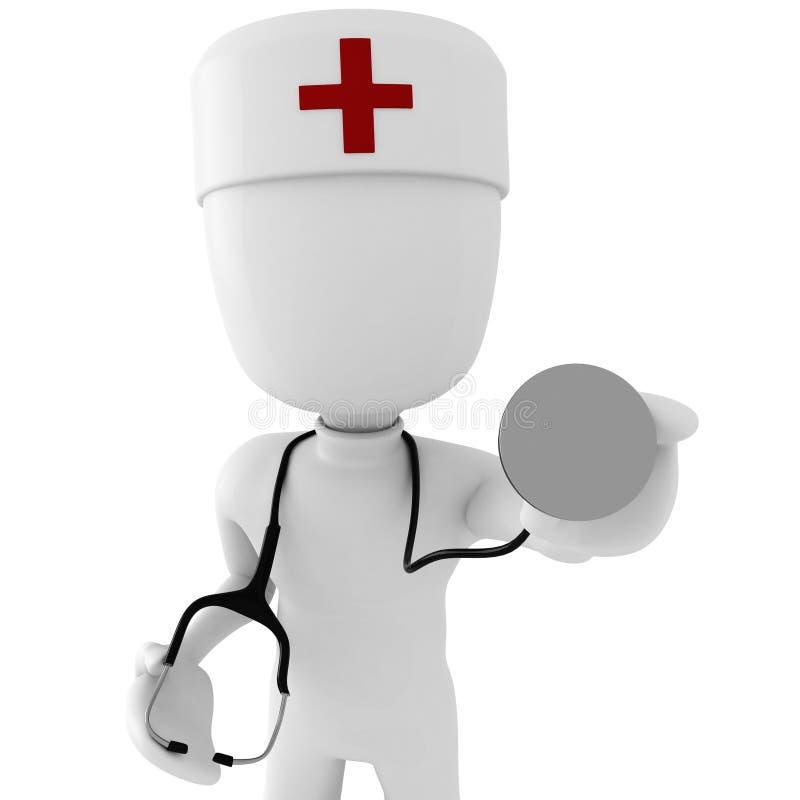 doctor del hombre 3d libre illustration