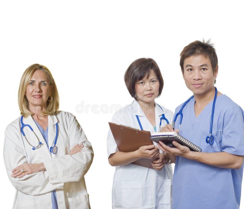 doctor det vänliga laget arkivbilder