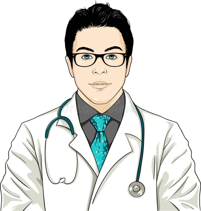 DOCTOR stock illustration