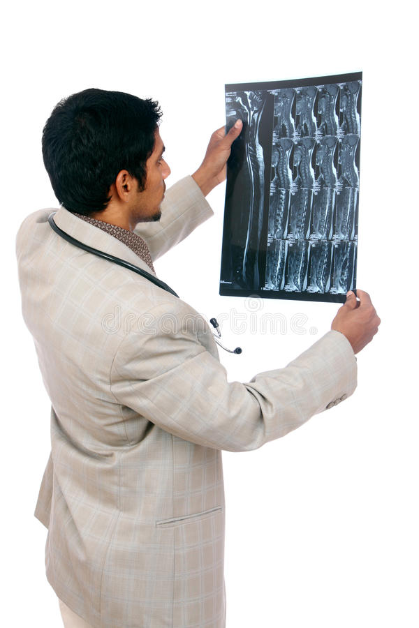 Download Doctor examining the X-ray stock image. Image of diagnostic - 21125865