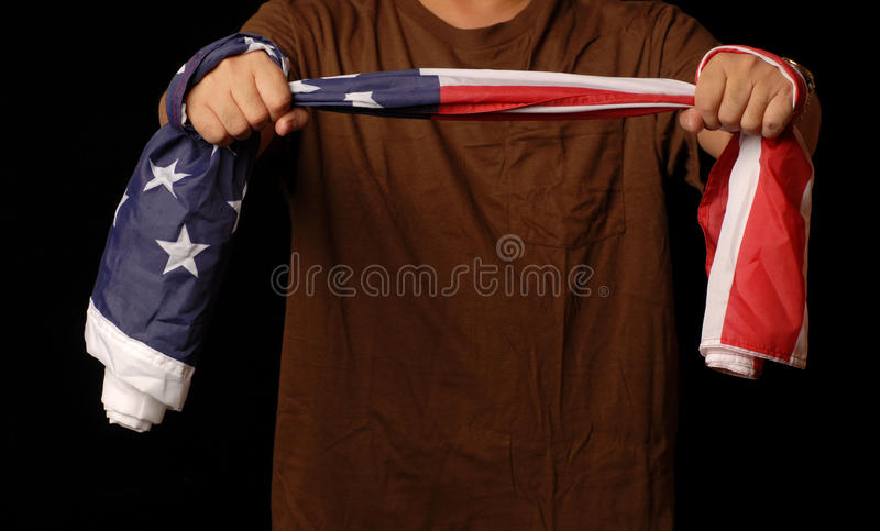 Download Doctor Flag  To Debate Healthcare Reform Stock Photo - Image: 11515756