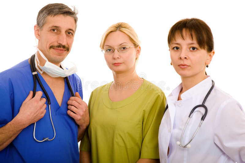 Download Doctor And His Medical Team Stock Image - Image: 6557779