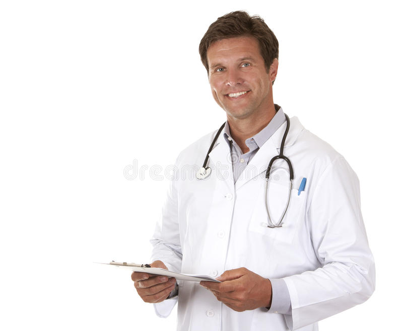 Download Doctor holding notes stock photo. Image of holding, medic - 26485928