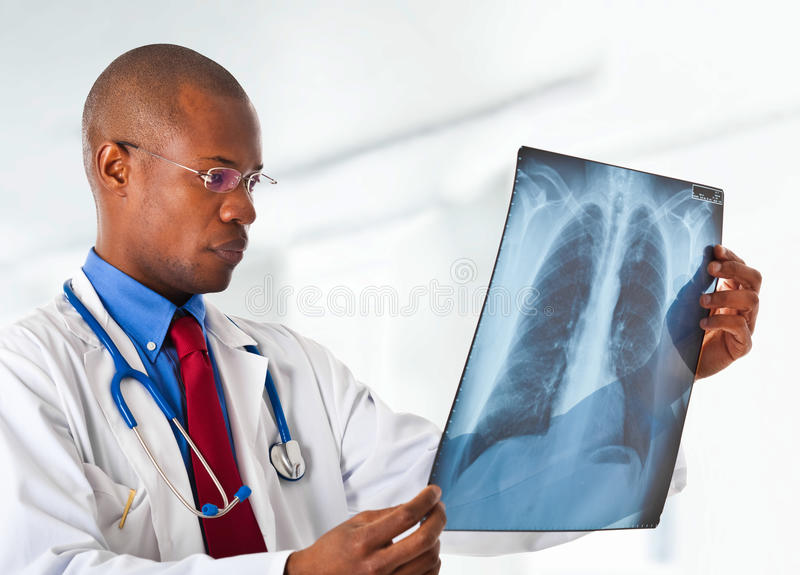 Download Doctor Holding A Radiography Stock Image - Image: 22816331