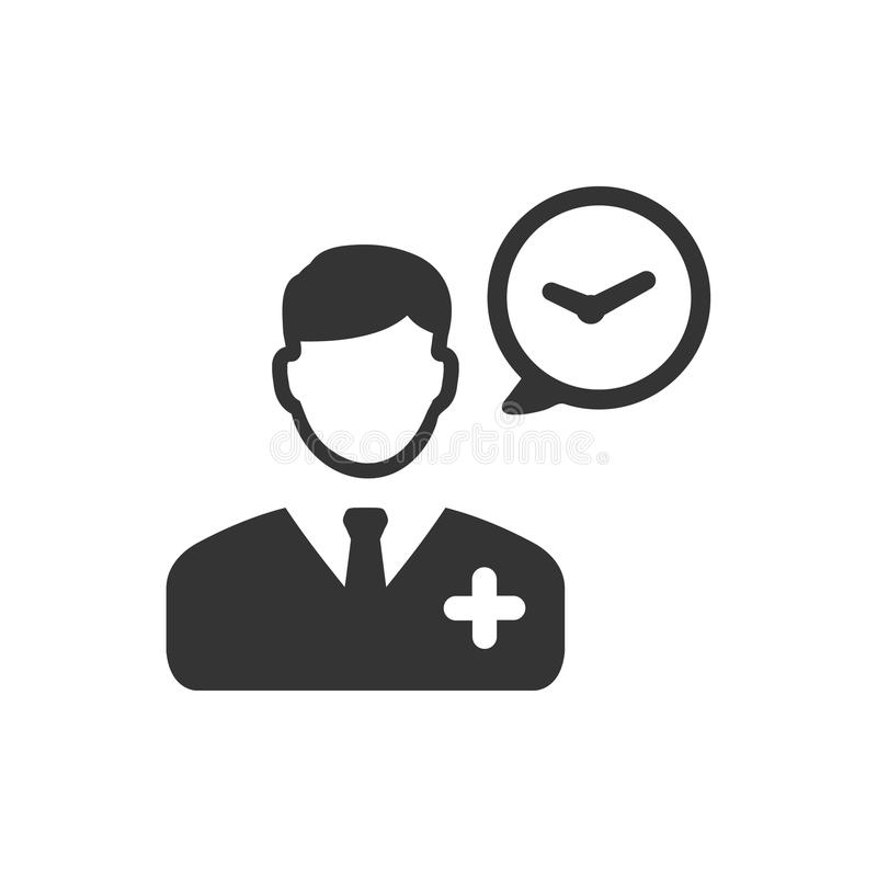 Doctor icono de servicio libre illustration